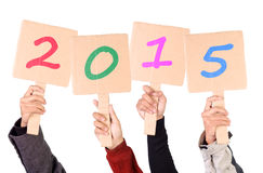2015 Placards Stock Images