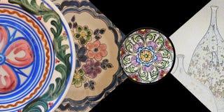 Placas cerâmicas Imagens de Stock Royalty Free