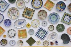 Placas cerâmicas Fotografia de Stock