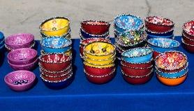 Placas cerâmicas turcas tradicionais Imagens de Stock Royalty Free