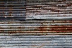 Placas de acero galvanizadas del hierro Imagen de archivo