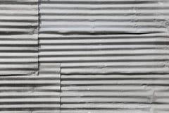 Placas de acero galvanizadas del hierro Imagenes de archivo