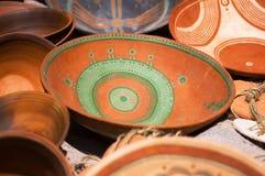 Placas de cerámica Foto de archivo libre de regalías
