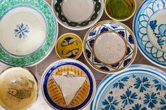 Placas de cerámica Imágenes de archivo libres de regalías