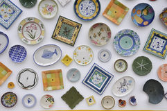 Placas de cerámica Fotografía de archivo