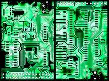 Placas de circuito ilustração stock