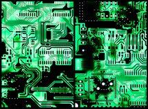 Placas de circuito ilustração do vetor