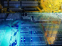Placas de circuito fotografia de stock royalty free