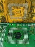 Placas de circuito fotografia de stock