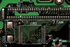 Placas de circuito foto de archivo libre de regalías