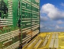 Placas de circuito foto de stock