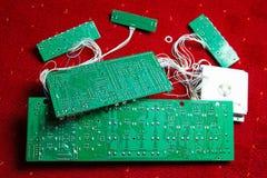 Placas de circuito impresso Fotografia de Stock Royalty Free