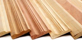 Placas de contorno de madeira imagem de stock