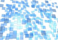 Placas de cristal Stock de ilustración