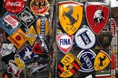Placas de la marca Imagen de archivo libre de regalías