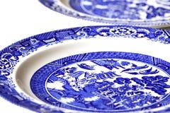Placas de la porcelana Foto de archivo libre de regalías