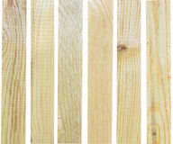 Placas de madeira Fotografia de Stock Royalty Free