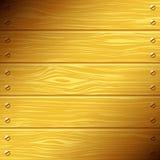 Placas de madeira Fotografia de Stock