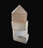 Placas de madeira Imagem de Stock