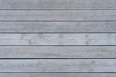 Placas de madeira cinzentas com textura de superfície com nervuras foto de stock