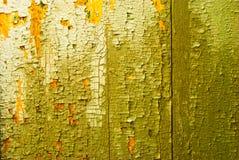 Placas de madeira com pintura da casca imagem de stock royalty free