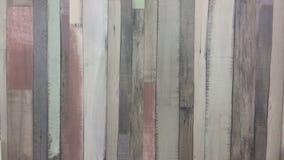 Placas de madeira, cores diferentes no estilo retro, placas velhas Foto de Stock