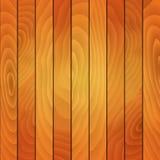 Placas de madeira da ilustração Fundo do vetor Foto de Stock
