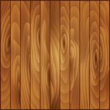 Placas de madeira da textura do vetor Prancha de madeira Ilustração Royalty Free