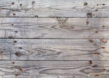 Placas de madeira do fundo envelhecidas Fotografia de Stock