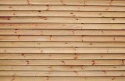 Placas de madeira do pinho Foto de Stock