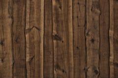 Placas de madeira escuras como o fundo Fotos de Stock