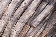 Placas de madeira idosas imagens de stock