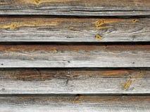 Placas de madeira Louvered resistidas Fotos de Stock Royalty Free