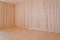Placas de madeira naturais Fotografia de Stock