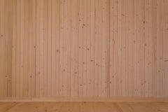 Placas de madeira naturais Foto de Stock