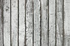 Placas de madeira pintadas envelhecidas Fotos de Stock