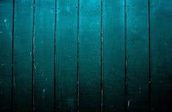 Placas de madeira pintadas verdes Fotografia de Stock Royalty Free