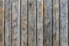 Placas de madeira resistidas velhas Foto de Stock Royalty Free