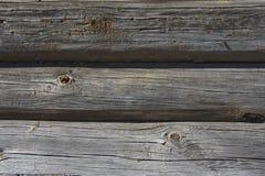 Placas de madeira velhas Imagens de Stock