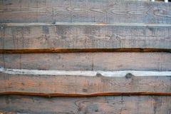 Placas de madeira velhas da cerca para imprimir fotografia de stock