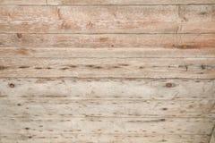 Placas de madeira velhas Textured do fundo Fotos de Stock Royalty Free