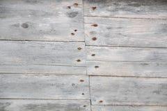 Placas de madeira velhas Textured do fundo Imagem de Stock
