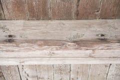 Placas de madeira velhas Textured do fundo Imagens de Stock Royalty Free