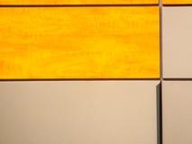 placas de metal e textura de madeira Imagens de Stock