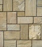 Placas de piedra del revestimiento en la pared Foto de archivo libre de regalías