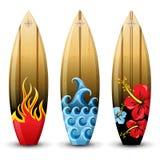 Placas de ressaca Foto de Stock Royalty Free