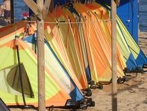 Placas de ressaca do vento na areia fotos de stock royalty free