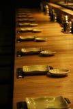 Placas del sushi Fotografía de archivo