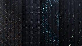 Placas do carbono do vetor com pontos geométricos diferentes fotos de stock royalty free