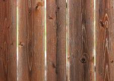 Placas do vertical de Brown Foto de Stock